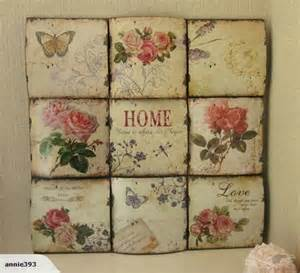 Shabby Chic Wall Decor by