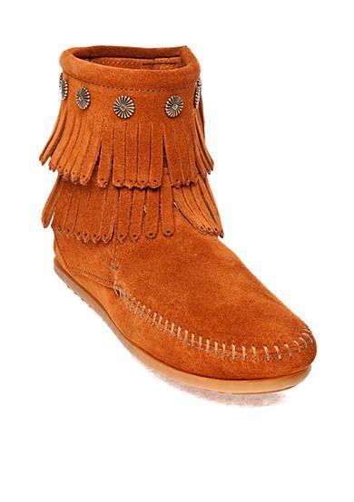 belk fringe boots minnetonka fringe side zip boot belk