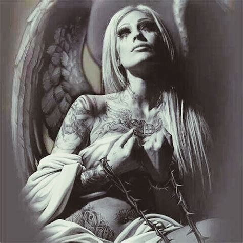 og abel angel tattoos pictures to pin on pinterest