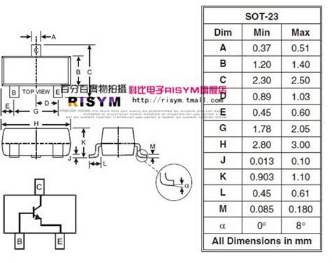 transistor j3y datasheet risym smd transistor s8050 printing j3y npn power transistor package sot 23 50