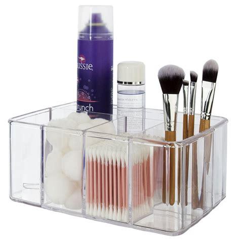 acrylic vanity organizer in cosmetic organizers
