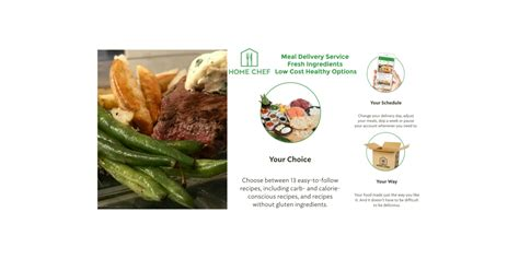 home chef meal delivery service perfectly proportioned