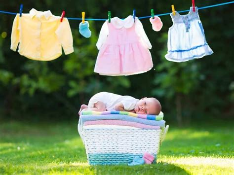 how to wash baby clothes safely lifealth