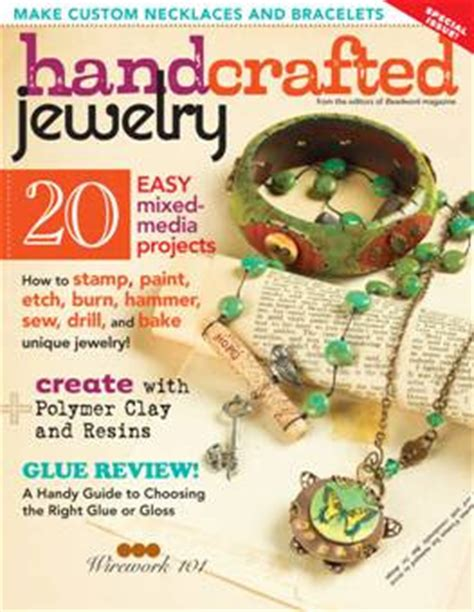 Handcrafted Jewelry Magazine - shiny things new magazine handcrafted jewelry