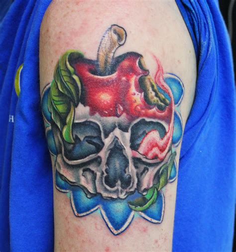 rotten apple tattoo apple images designs