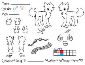 Fursona Template by Reference Sheet Template V2 By Shayminlover101 On Deviantart
