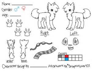 fursona template reference sheet template v2 by shayminlover101 on deviantart