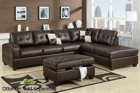 Brown Leather Sectional Sofa Steal A Sofa Furniture Leather Sofa Sectional