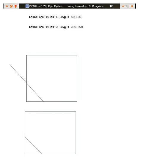line drawing software free software c program of dda line drawing