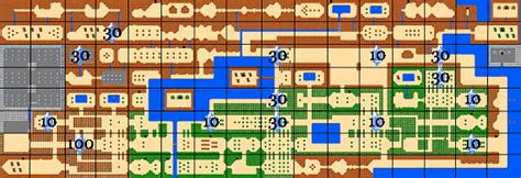 legend of zelda bomb map the legend of zelda secret rupees