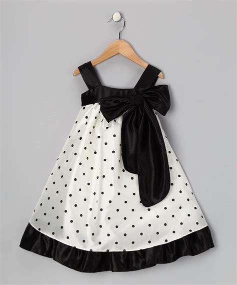 Kiddy Polka Black Baju Anak 0138 kid s black polka dot bow dress toddler polka dots and look at