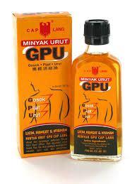 Minyak Urut Gpu 60ml jual produk kulit prosehat