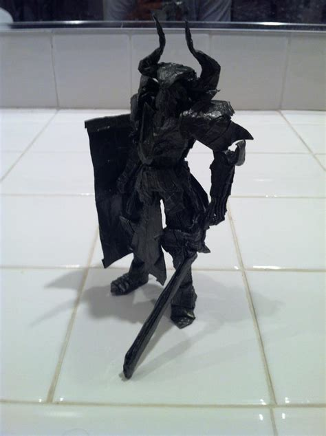 How To Make An Origami Soldier - origami warrior by mechaprime 00 on deviantart