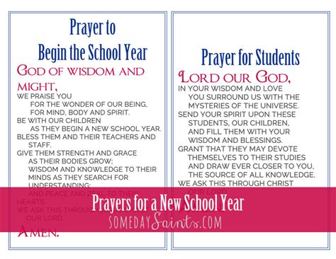 prayer for the new school year prayers for a new school year