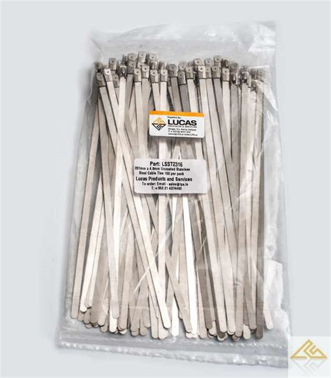 Silet Laser Stainless Per Pack stainless steel cable ties 100 per pack
