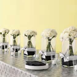 black and white wedding centerpieces on a budget white carnation bouquet centerpieces wedding flowers photos brides
