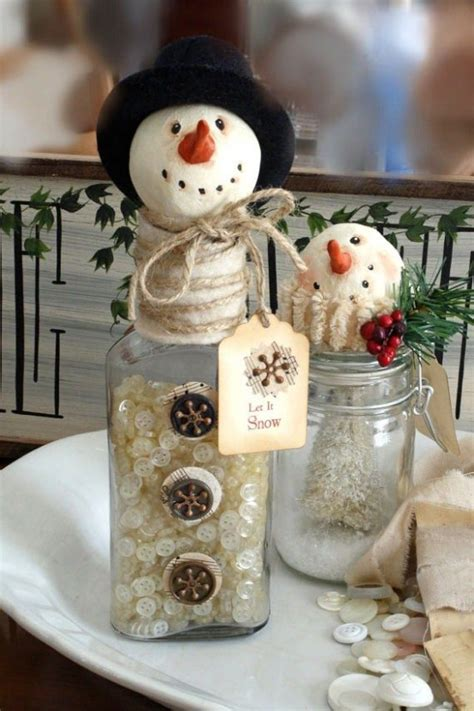 decorations for homes 29 fun snowman christmas decorations for your home digsdigs