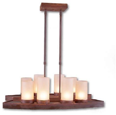 rustic kitchen island pendant lighting houzz rustic rustic wisley island light light eclectic kitchen