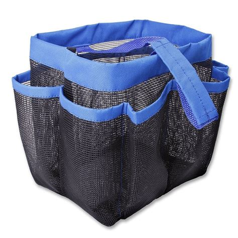 travel mesh shover bag tas mandi black jakartanotebook
