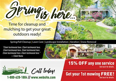 lawn care advertising flyers best of nice lawn mowing business cards