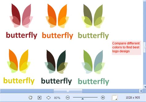 best logo color combinations how to preview different color schemes on the same canvas