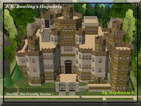 Mod The Sims Harry Potter Collection Hogwarts Smaller Sims 3 Castle Floor Plans