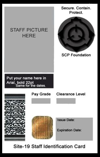 us army id card template scp foundation id card template by generalpurposegeek on