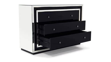 Black Dresser Without Mirror Black Dresser Without Mirror Mera Black Lacquer And Mirror Dresser Azure Faux Leather 8