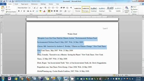 download an mla template for word 2010 the hathix blog