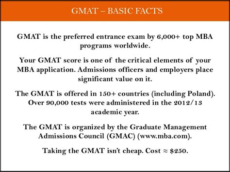 Gmat Is For Mba by Gmat Intro Workshop