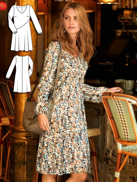 burda burda style pattern b6446 women s sleeve variation top lovely illusion 10 new women s sewing patterns sewing
