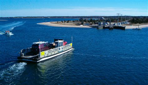 Chappaquiddick Ferry Chappaquiddick Island Massachusetts Worlds Best Towns