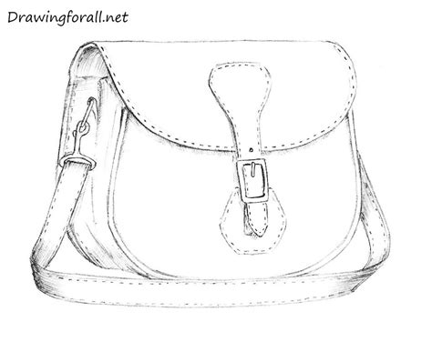 drawing bag pattern how to draw a bag drawingforall net