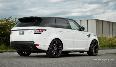 land rover sport custom range rover sport looks sublime on 24s