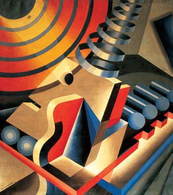 tres imagenes figurativas futurismo