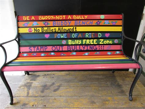 buddy bench sign buddy bench 4 h project ideas for kaylee pinterest