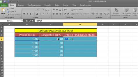 como calcular intereses moratorios en excel como calcular porcentaje con excel calcular por ciento en