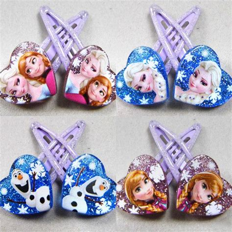 Elsa Button Hairclips new disney frozen elsa olaf end 10 5 2018 12 39 am