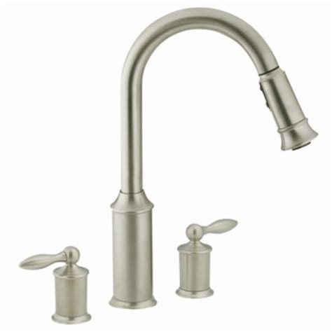moen aberdeen single handle high arc pulldown kitchen faucet at menards 174 52 best moen kitchen faucets images on pinterest