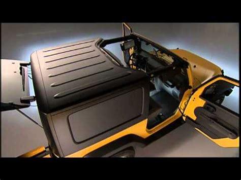 2013 jeep wrangler | freedom top modular hard top removal