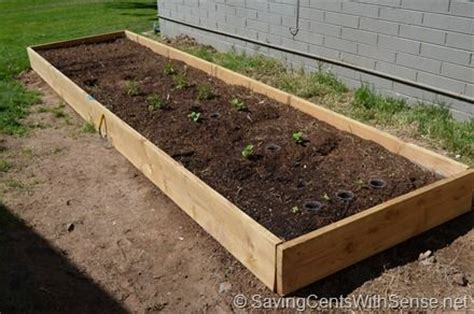 How To Make Your Own Vegetable Garden How To Build Your Own Raised Bed Vegetable Garden