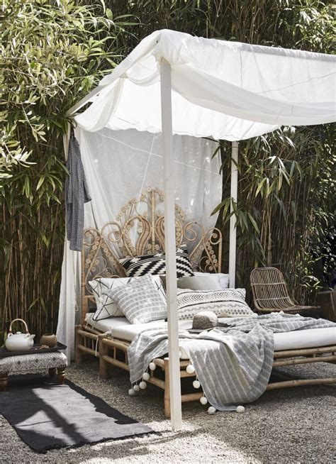 outdoor bed with canopy daydreaming outdoor beds centsational
