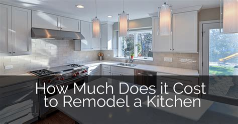 how much does a kitchen remodel cost 17 best ideas about