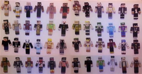 How To Make A Minecraft Person Out Of Paper - minecraft papercraft part 1 by rozen258 on deviantart