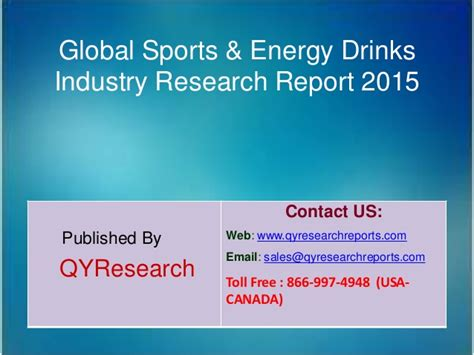 energy drink industry analysis global sports energy drinks market 2015 industry trends