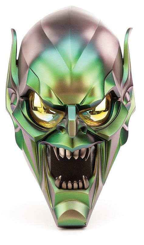 printable goblin mask willem dafoe quot green goblin quot hero mask from spider man and sp