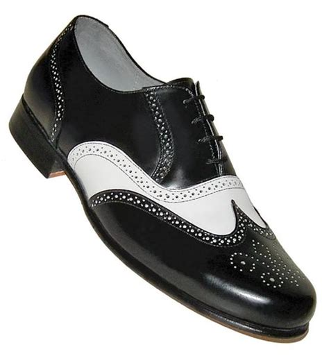 mens black and white wingtip oxford shoes aris allen s 1930s black and white spectator wingtip