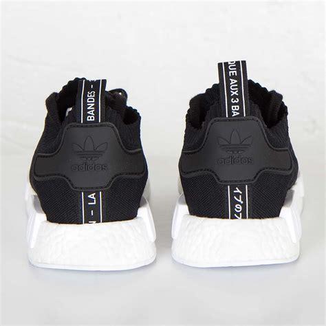 Adidas Nmd R1 Pk Monochrome Pack adidas originals nmd r1 primeknit monochrome pack kern