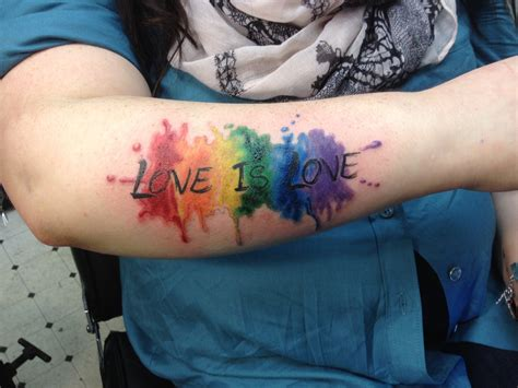 gay pride tattoo equality