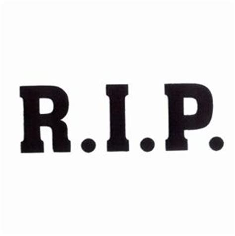r.i.p. text (cd091707kq) embroidery design by starbird inc.